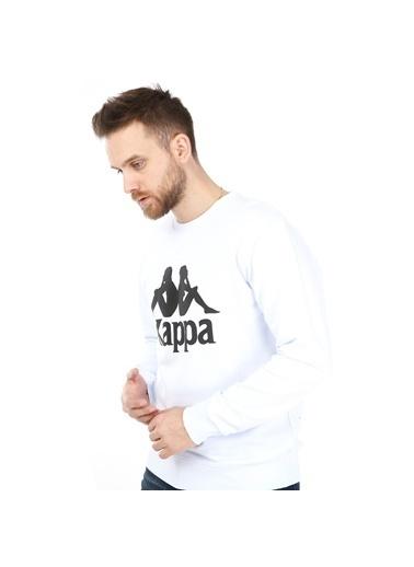 Kappa Sweatshirt Beyaz